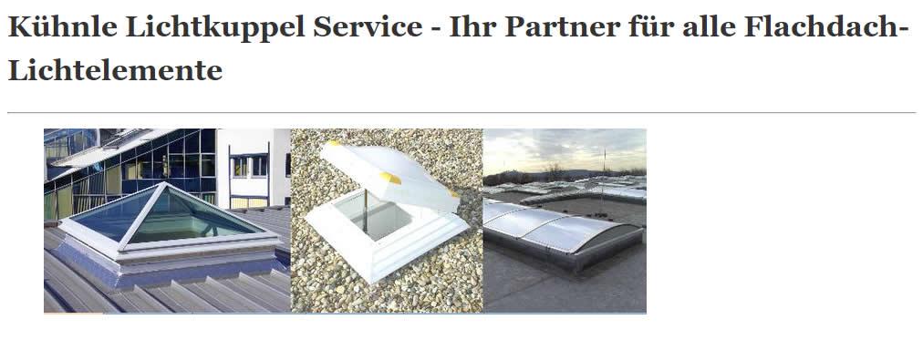 Lichtkuppel und Flachdachfenster für 73095 Albershausen